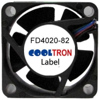 Fan / Blower FD4020-82 SeriesDC AXIAL FAN 15 x 15 x 06mmAir Flow:0.23 ~ 0.44 CFM