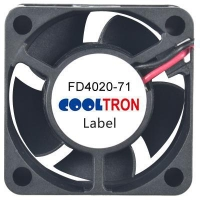 Fan / Blower FD4020-71 SeriesDC AXIAL FAN 40 x 40 x 20mmAir Flow:5.80 ~ 8.70 CFM