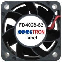 Fan / Blower FD4028-82 SeriesDC AXIAL FAN 40 x 40 x 28mmAir Flow:9.60 ~ 16.60 CFM