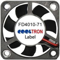 Fan / Blower FD4010-71 SeriesDC AXIAL FAN 40 x 40 x 10mmAir Flow:4.50 ~ 6.50 CFM