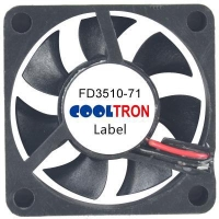 Fan / Blower FD3510-71 SeriesDC AXIAL FAN 35 x 35 x 10mmAir Flow:3.60 ~ 6.40 CFM