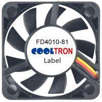 Fan / Blower FD4010-81 SeriesDC AXIAL FAN 40 x 40 x 10mmAir Flow:5.50 ~ 8.10 CFM