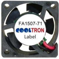 Fan / Blower FD1506-71 SeriesDC AXIAL FAN 15 x 15 x 06mmAir Flow: 0.23 ~ 0.44 CFM