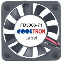 Fan / Blower FD3006-71 Series DC AXIAL FAN 30x 30 x 06mmAir Flow:1.70 ~ 2.40 CFM