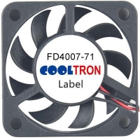 Fan / Blower FD4007-71 SeriesDC AXIAL FAN 40 x 40 x 07mmAir Flow:5.50 ~ 6.60 CFM