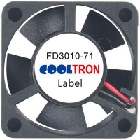 Fan / Blower FD3010-71 SeriesDC AXIAL FAN 30 x 30 x 10mmAir Flow:2.50 ~ 4.30 CFM