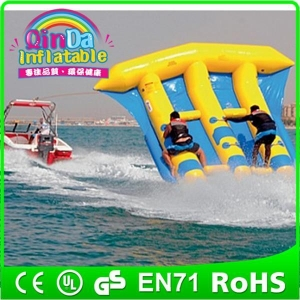 China Frame Pool Product inflatable water sled boat banana boat fly fish on sale