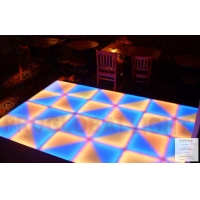 China Led dance floor lights on sale