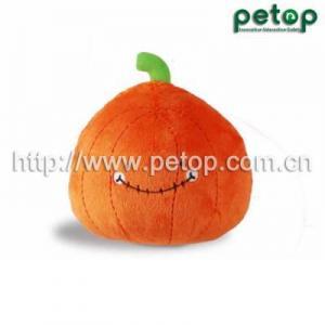 China Pet Toys PT2016 Pumpkin Crazy Ball Pet Dog Toy on sale
