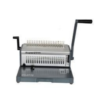 Manual Comb Binding Machine Punching And Comb Binding Machine With Aluminum Metarial (SUPER21 PLUS)