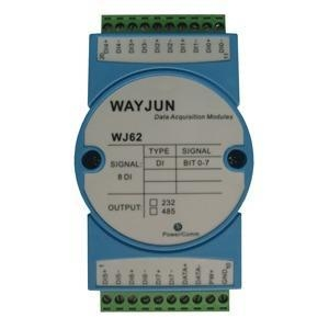 Quality Analog I/O Modules 8-CH Isolated Switch Signal to RS485/232 Converter for sale