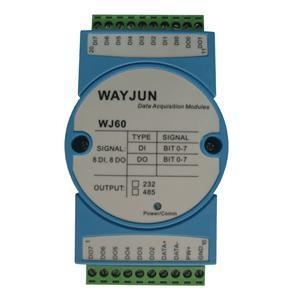China Analog I/O Modules 8-CH DI/DO Digital Signal Converter on sale