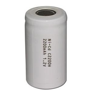 China High Temperature Ni-Cd battery C 2200mAh 1.2V on sale