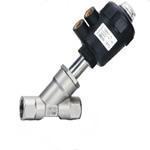 China PA Actuator Pneumatic angle seat valve on sale
