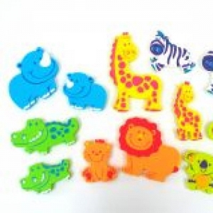 China Plastic Baby Toys- Jungle EVA Foam Sticker on sale