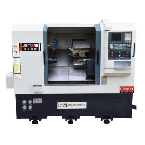 China 2-Axis turret and tailstock cnc lathe machine CB46DW on sale