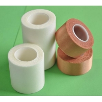 Medical Breathable Rayon/Silk Self-adhesive plaster Tape