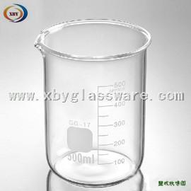 China Lab Glassware Heat Resist Glass Beaker on sale