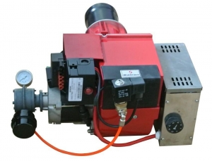 China STW146-2 complete 200,000 BTU waste oil burner includes pump float tank and heater on sale