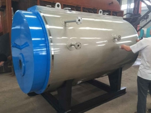 China waste oil fired boiler WNS2-1.25-YQ industrial steam boiler manufacturers on sale