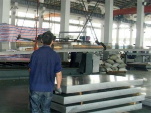 China Hot rolling Aluminum plate on sale
