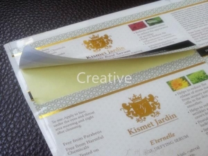 China Custom Labels hot stamp foil printing labels on sale