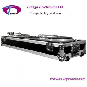 China Turntables Coffin - 2pcs Turntables /19inch Mixer DJ Coffin With Wheels on sale