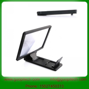 China Mobile phone accessories GPM004 3D enlarge screen magnifier for mobile phone on sale