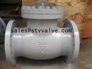 China Cast Steel check valve API/ANSI swing check valve on sale