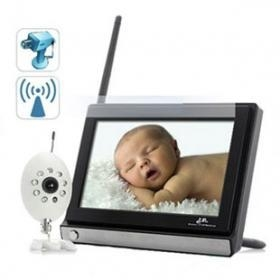 China Free Shipping 7 Inch LCD Night Vision Wireless Baby Monitor Kit on sale