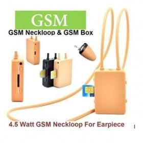 China Free Shipping 4.5W GSM Neckloop Box+Super Mini Wireless Earpiece on sale