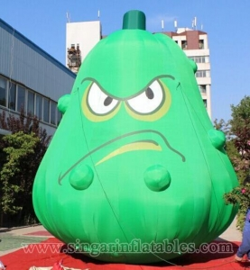 China Lighting Decorations inflatable fruit and vegetable replica for garden decoration on sale