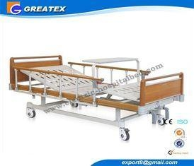 China Four Fold Bed Board double Function patient hospital bed , manual adjustable beds on sale