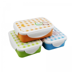 China Lock and lock food container,plastic lunch box for kids on sale