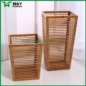 China MY2-5011 Entry-way storage for umbrella and walking canes bamboo on sale