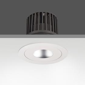 China A04 COB LED Ceiling Down Light/Recessed LED Light Fixtures 7W 12W 18W 30W on sale
