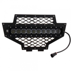 China 100w Lower LED Light Bar(included) Grille 2011-2013 Polaris RZR on sale