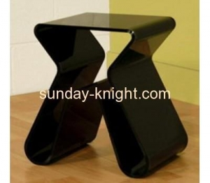 China Modern acrylic coffee table with magazine holder AFK-012 on sale