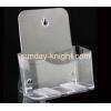China Custom high quality acrylic magazine holders BHK-011 for sale