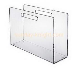 China Custom acrylic brochure holder file holder acrylic holder BHK-037 on sale