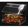 China Transparent acrylic roof shape display box for candy FSK-021 for sale
