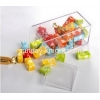 China Custom retail store storage display acrylic plastic candy box FSK-043 for sale