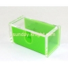 China 2016 new design fashion small double color acrylic display box DBK-033 for sale