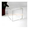 China 2016 fashion design clear plexiglass acrylic rectangle storage box DBK-034 for sale