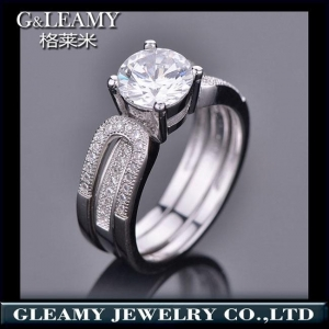 China 925 sterling silver ring,engagement rings and bands on sale