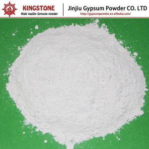 China Gypsum Powder Plaster of Paris for Making Chalk Education Use on sale