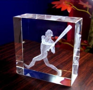 China 3D Crystal Trophy on sale