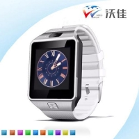 China Surprising price LCD touch screen DZ09 Bluetooth smart watch for iPhone Samsung Android phone on sale