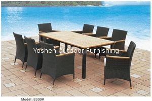 China Dinning Rattan Furniture on sale