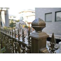 China Ornamental iron fences on sale